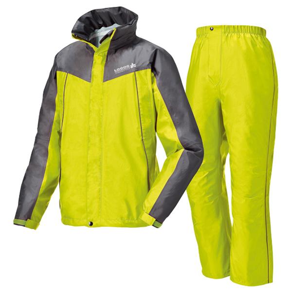 OUTDOOR LOGOS(ロゴス) 透湿レインスーツ・スロエ/ライトグリーン/XXL 28056320レインウェア上下セット レインウェア ウェア レインスーツ上下セット レインウェア男性用(男女兼用) アウトドアウェア