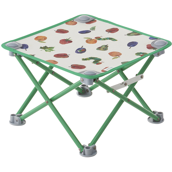 OUTDOOR LOGOS(ロゴス) はらぺこあおむし キュービックテーブル 86009005テーブル レジャーシート ローテーブル アウトドアギア