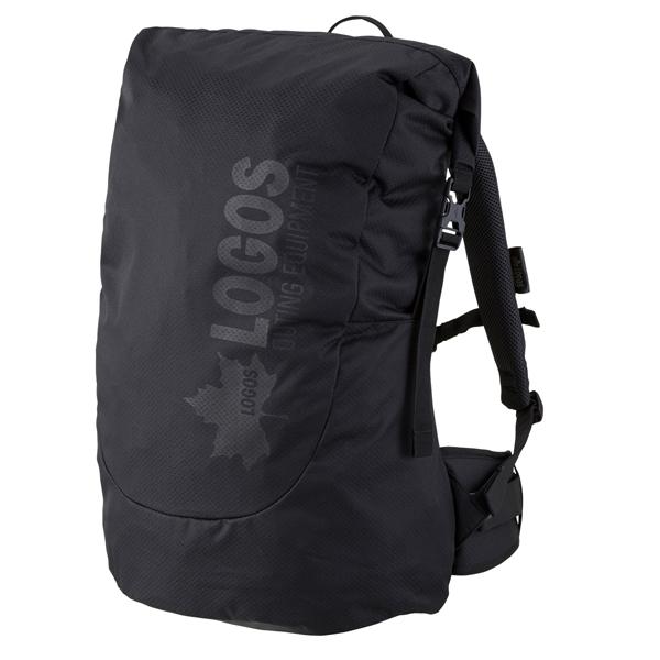 OUTDOOR LOGOS(ロゴス) ADVEL ダッフルリュック40(ブラック) 88250164ブラック リュック バックパック バッグ トレッキングパック トレッキング40 アウトドアギア