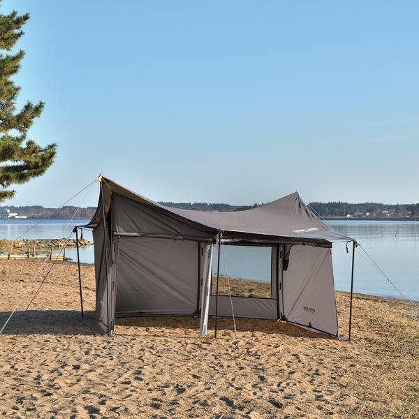 UNIFLAME(ユニフレーム) REVOウォール(solo)TAN 682067アウトドアギア テント・タープセット テントセット タープ テント