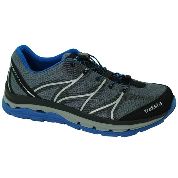 TrekSta(トレクスタ) ハイパーフォーム/ブラック/ブルー970/270 EBK540ブラック ブーツ 靴 トレッキング アウトドアスポーツシューズ トレイルランシューズ アウトドアギア