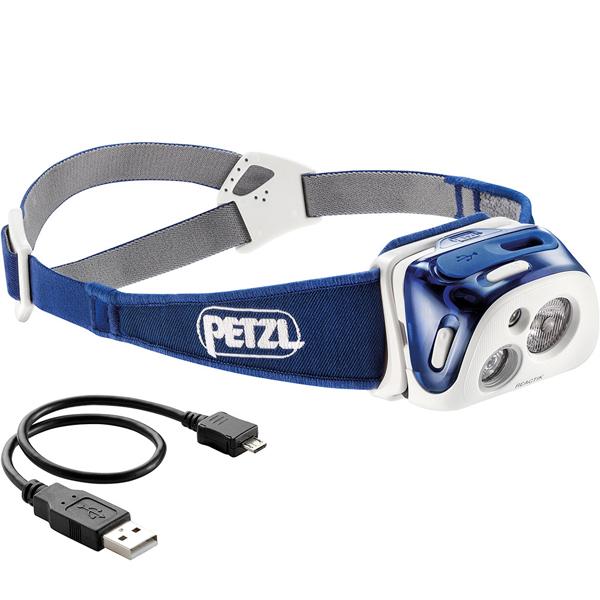 PETZL(ペツル) リアクティック/Blue E92HMIブルー ヘッドライト ランタン LEDタイプ アウトドアギア