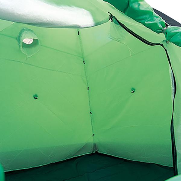 ESPACE(エスパース) スーパー内張り 1-2人用(オプション) SPucbrグリーン フライシート テントアクセサリー タープ テントオプション 冬用オプション アウトドアギア