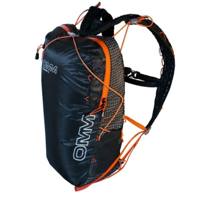 OMM Phantom12/Black/Orange OF015ブラック リュック バックパック バッグ トレッキングパック トレッキング小型 アウトドアギア