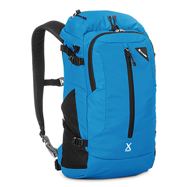 pacsafe(パックセーフ) ベンチャーセーフX22 Hブルー 12970172ブルー リュック バックパック バッグ トレッキングパック トレッキング20 アウトドアギア