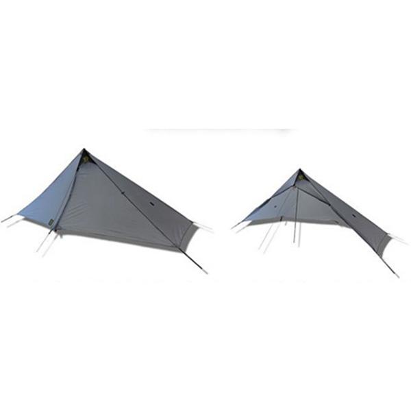 Six Moon Designs(シックスムーンデザインズ) DeschutesTarpデュシュッツタープグレー テント タープ シェルター シェルター アウトドアギア