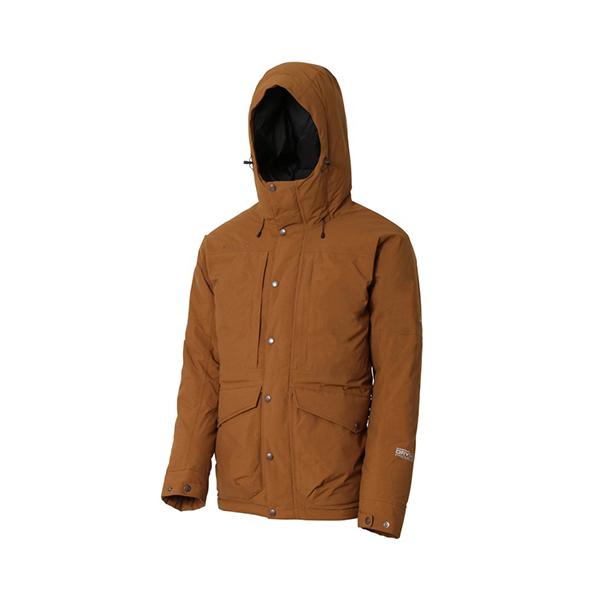 Mammut(マムート) DRYtech Prime Down Coat Men/7396timber/S 1010-22950ブラウン アウター メンズウェア ウェア ダウンジャケット ダウンジャケット男性用 アウトドアウェア