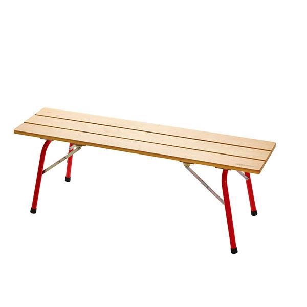 Castelmerlino(カステルメルリーノ) フォールデイングウッドベンチ 120×30 20056イス レジャーシート テーブル ベンチ ベンチ アウトドアギア