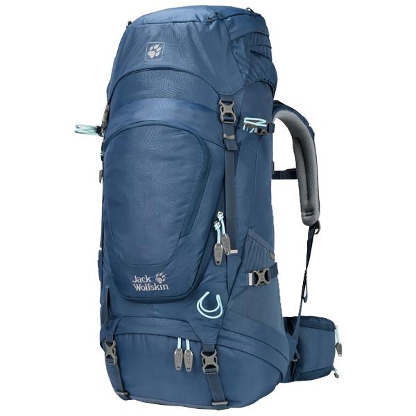 JACKWOLFSKIN(ジャックウルフスキン) ハイランドトレイルXT45W/8035リーフダークスカイ W2003032アウトドアギア トレッキング40 トレッキングパック バッグ バックパック リュック ブルー 女性用