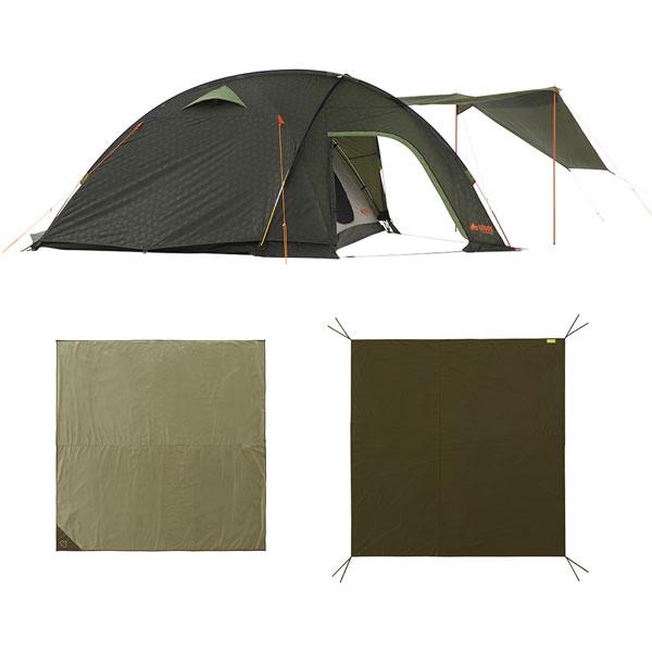 OUTDOOR LOGOS(ロゴス) シビックドームXLチャレンジセット 71809541テント タープ キャンプ用テント キャンプ4 アウトドアギア