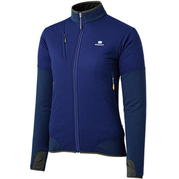 finetrack(ファイントラック) ドラウトポリゴン3アッセントジャケット Ws MB FMW0905女性用 ブルー アウター メンズウェア ウェア ジャケット 中綿入り ジャケット 中綿入り女性用 アウトドアウェア