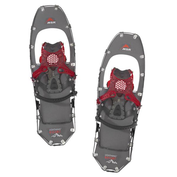 MSR(エムエスアール) ライトニングアッセント女性用 ガンメタル 22インチ 40009アウトドアギア 登山 トレッキング スノーシュー