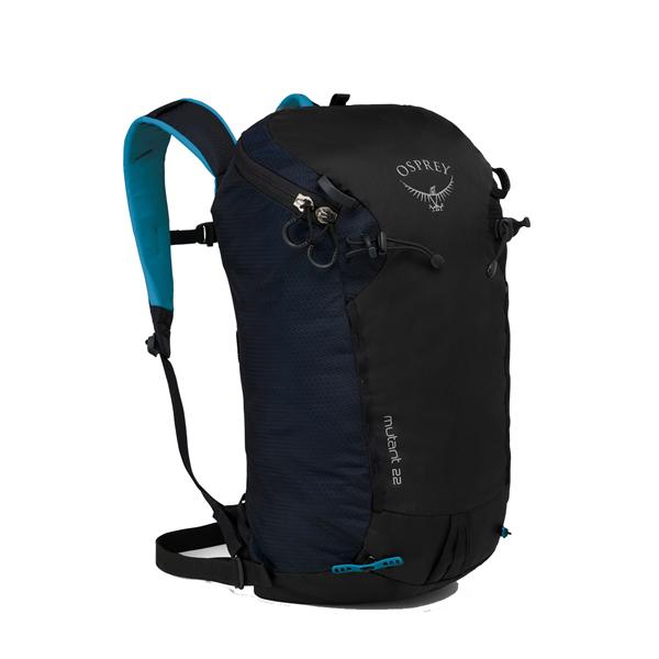 OSPREY(オスプレー) ミュータント 22/ブラックアイス/ワンサイズ OS50422ブラック リュック バックパック バッグ トレッキングパック トレッキング20 アウトドアギア
