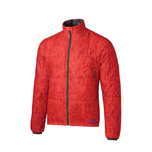 finetrack(ファイントラック) ポリゴン2ULジャケット Ms CR FIM0213男性用 レッド アウター メンズウェア ウェア ジャケット 中綿入り ジャケット 中綿入り男性用 アウトドアウェア