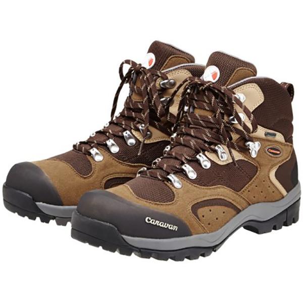 Caravan(キャラバン) 1_02S/440ブラウン/24.5cm 0010106男女兼用 ブラウン ブーツ 靴 トレッキング トレッキングシューズ トレッキング用 アウトドアギア