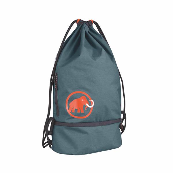 Mammut(マムート) Magic Gym Bag/5851dark chill 2290-01000ブルー バッグ アウトドア アウトドア チョークバッグ・ロープバッグ チョークバッグ・ロープバッグ アウトドアギア