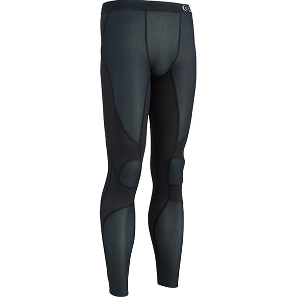 C3fit(シースリーフィット) インパクトエアロングタイツ/K/M 3F14127男性用 ブラック ロングパンツ メンズウェア ウェア サポートタイツ サポートタイツ男性用 アウトドアウェア