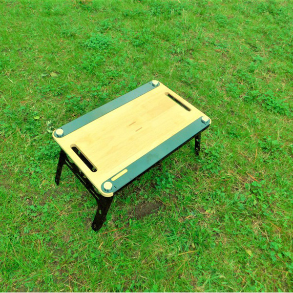 VICTORY CAMP(ビクトリーキャンプ) Wood Table TAK ナチュラル VCKT-106テーブル レジャーシート BBQテーブル アウトドアギア