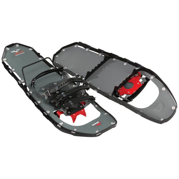 MSR(エムエスアール) ライトニング 3ストラップ アッセント/25インチ/ブラック 40213アウトドアギア 登山 トレッキング スノーシュー ブラック