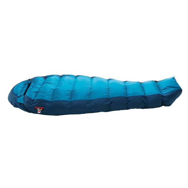 NANGA(ナンガ) オーロラライト900SPDX/BLU/レギュラー AURLT116ブルー 一人用(1人用) ウインタータイプ(冬用) シュラフ 寝袋 アウトドア用寝具 マミー型 マミーウインター アウトドアギア