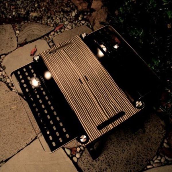VICTORY CAMP(ビクトリーキャンプ) Wood Table TAK ゼブラ VCKT-107テーブル レジャーシート BBQテーブル アウトドアギア