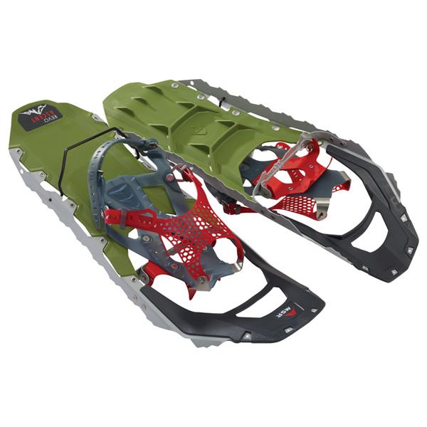 MSR(エムエスアール) REVOアッセント オリーブ 22インチ 40013アウトドアギア 登山 トレッキング スノーシュー グリーン 男女兼用