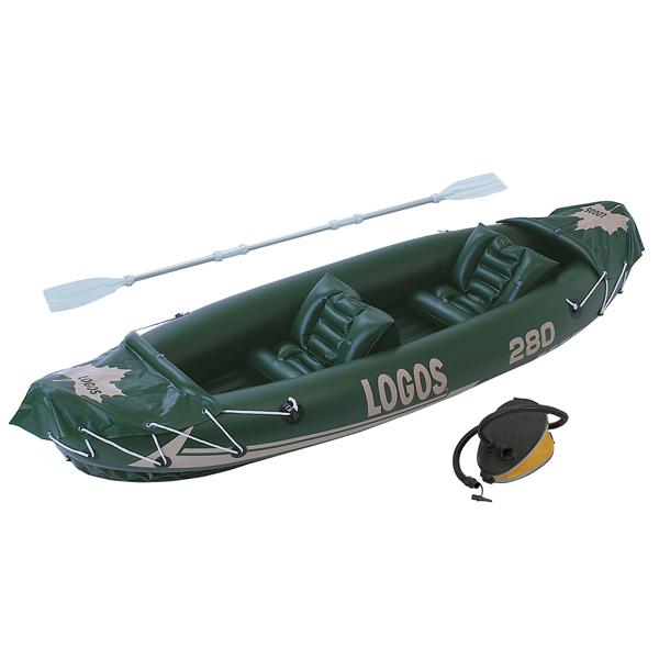 OUTDOOR LOGOS(ロゴス) LOGOS 2マンカヤック 81448012-3二人用(2人用) カヌー カヤック カヌー本体 インフレータブル アウトドアギア