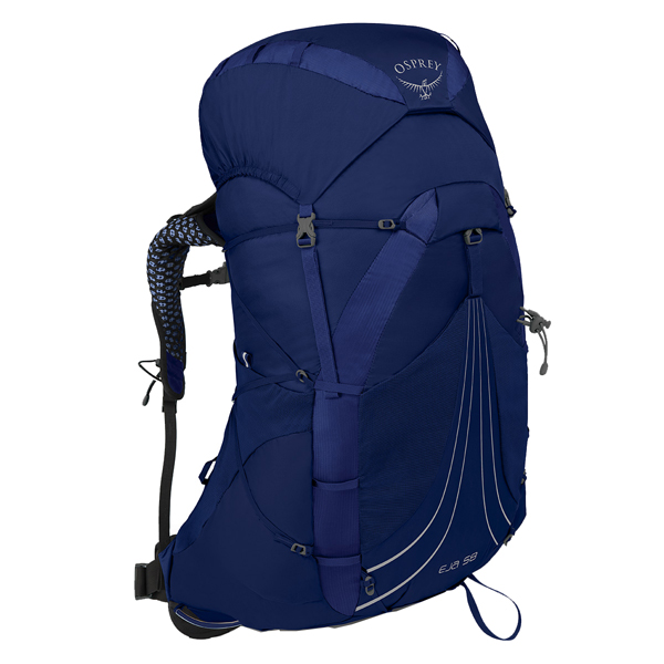 OSPREY(オスプレー) エイジャ 48/イクイノックスブルー/M OS50336女性用 ブルー リュック バックパック バッグ トレッキングパック トレッキング40 アウトドアギア