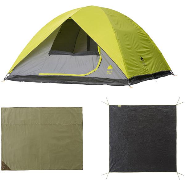 OUTDOOR LOGOS(ロゴス) 4人がゆったりサンドームXLセット 71809545テント タープ キャンプ用テント キャンプ5 アウトドアギア