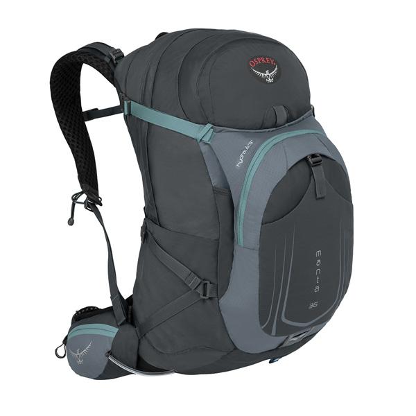 OSPREY(オスプレー) マンタAG 36/フォッシルグレー/S/M OS56030アウトドアギア トレッキング30 トレッキングパック バッグ バックパック リュック グレー 男性用 おうちキャンプ ベランピング