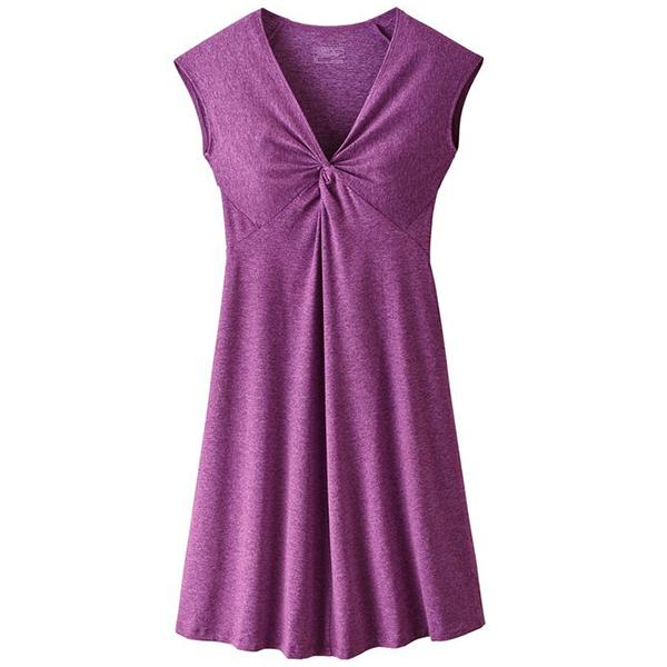 patagonia(パタゴニア) Ws Seabrook Bandha Dress/IKP/XS 58731女性用 パープル ワンピース レディースファッション シャツワンピース アウトドアウェア
