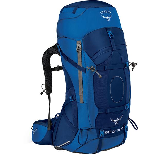 OSPREY(オスプレー) イーサーAG 70/ネプチューンブルー/M OS50061003005アウトドアギア トレッキング70 トレッキングパック バッグ バックパック リュック ブルー 男性用 おうちキャンプ ベランピング