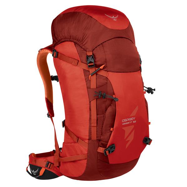 OSPREY(オスプレー) バリアント 52/ディアブロレッド/S OS50375男性用 レッド リュック バックパック バッグ トレッキングパック トレッキング50 アウトドアギア