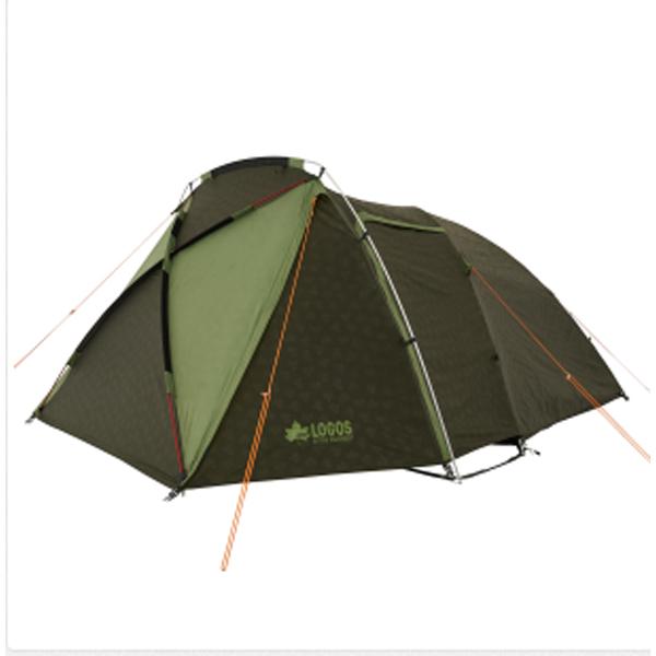 OUTDOOR LOGOS(ロゴス) neos AL PANELリビングプラス XL‐AI 71805045グリーン 六人用(6人用) テント タープ キャンプ用テント キャンプ6 アウトドアギア