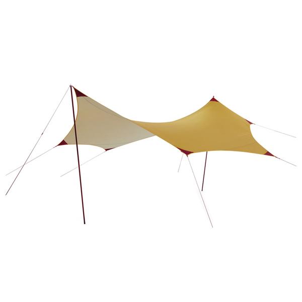 MSR(エムエスアール) ランデブーサンシールド 200ウィング 37015六人用(6人用) タープ タープ テント ヘキサ・ウイング型タープ ヘキサ・ウイング型タープ アウトドアギア