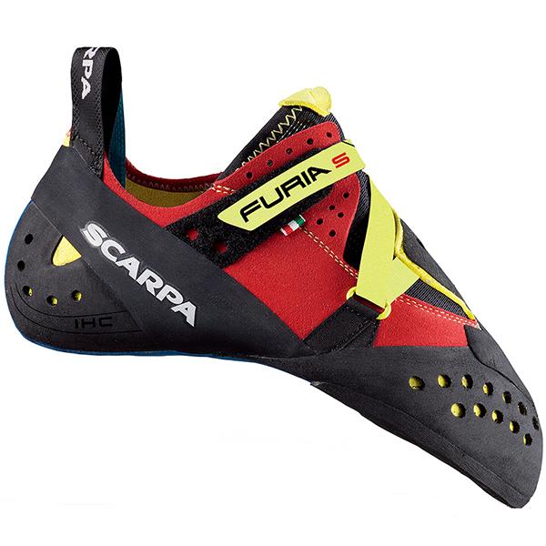 SCARPA(スカルパ) フューリア S/パロット/イエロー/#34 SC20210レッド ブーツ 靴 トレッキング トレッキングシューズ クライミング用 アウトドアギア