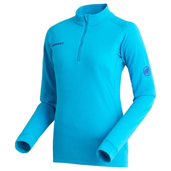 Mammut(マムート) PERFORMANCE Thermal Zip long Sleeve Women/5118marine/M 1016-00100女性用 ブルー ブラウス シャツ トップス 長袖シャツ 長袖シャツ女性用 アウトドアウェア