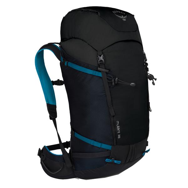 トレッキング30 バックパック アウトドアギア ミュータント38/ブラックアイス/S/M OS50421ブラック バッグ トレッキングパック リュック OSPREY(オスプレー)