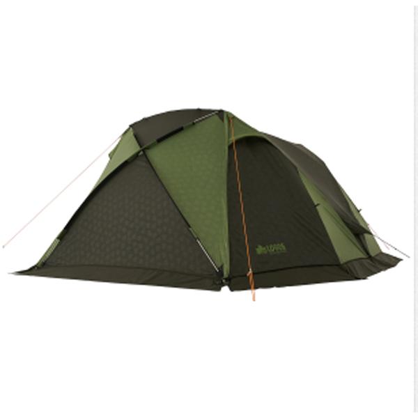 OUTDOOR LOGOS(ロゴス) neos AL PANEL V‐DOME WXL‐AI 71805047グリーン 六人用(6人用) テント タープ キャンプ用テント キャンプ6 アウトドアギア