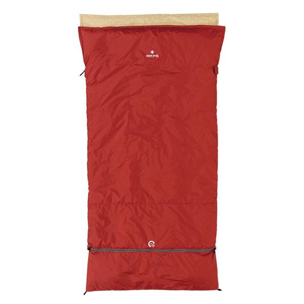 snow peak(スノーピーク) セパレートオフトンワイド 700 BDD-103レッド シュラフ 寝袋 アウトドア用寝具 封筒型 封筒スリーシーズン アウトドアギア