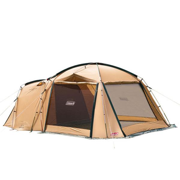 Coleman(コールマン) タフスクリーン2ルームハウス 2000031571アウトドアギア キャンプ大型 キャンプ用テント タープ 五人用(5人用) カーキ