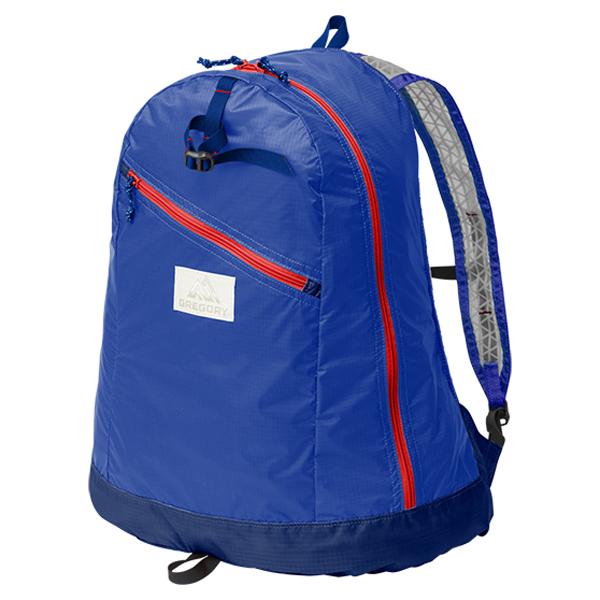 GREGORY(グレゴリー) デイパックLT/ブルー/レッド 85407ブルー リュック バックパック バッグ デイパック デイパック アウトドアギア