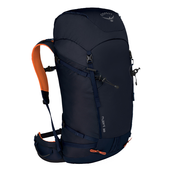 OSPREY(オスプレー) ミュータント38/ブルーファイヤー/S/M OS50421002004アウトドアギア トレッキング30 トレッキングパック バッグ バックパック リュック ブルー 男性用 おうちキャンプ