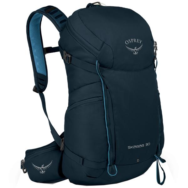 OSPREY(オスプレー) スカラベ 30/ディープブルー/ワンサイズ OS50350001001アウトドアギア トレッキング30 トレッキングパック バッグ バックパック リュック ブルー 男性用 おうちキャンプ