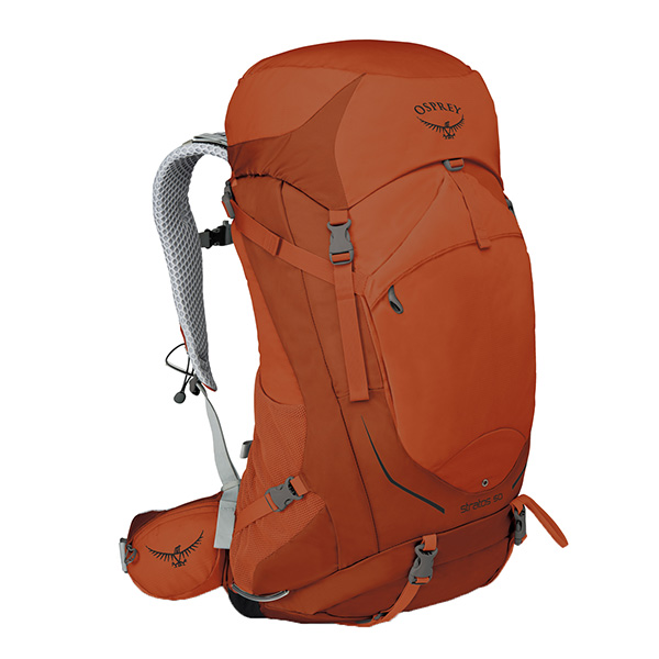 OSPREY(オスプレー) ストラトス 50/サングレイザーオレンジ/S/M OS50300003004アウトドアギア トレッキング50 トレッキングパック バッグ バックパック リュック オレンジ 男性用