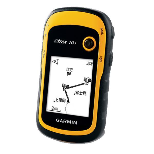 GARMIN(ガーミン) eTrex 10J(イートレックス10J) 97006イエロー GPS 精密機器類 アウトドア GPS本体 アウトドアギア