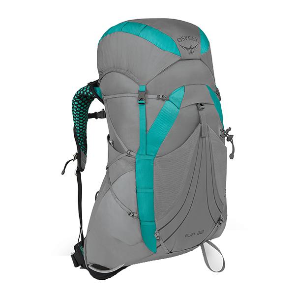 OSPREY(オスプレー) エイジャ 38/ムーングレードグレー/S OS50337女性用 グレー リュック バックパック バッグ トレッキングパック トレッキング30 アウトドアギア