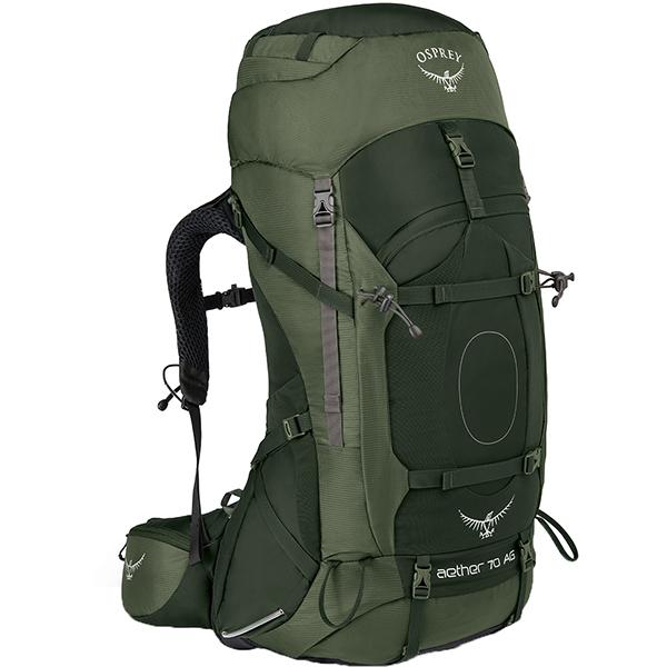 OSPREY(オスプレー) イーサーAG 70/アディロンダックグリーン/M OS50061001005アウトドアギア トレッキング70 トレッキングパック バッグ バックパック リュック グリーン 男性用 おうちキャンプ ベランピング