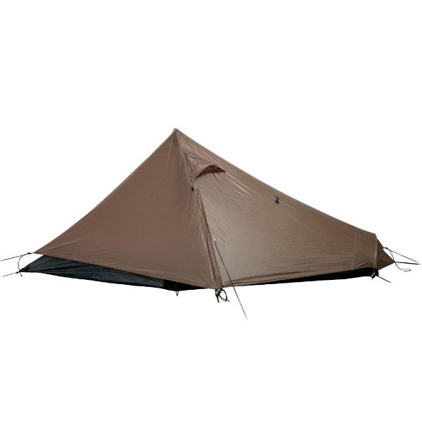 snow peak(スノーピーク) ラゴ Pro.air SSD-730ブラウン 一人用(1人用) テント タープ キャンプ用テント キャンプ1 アウトドアギア