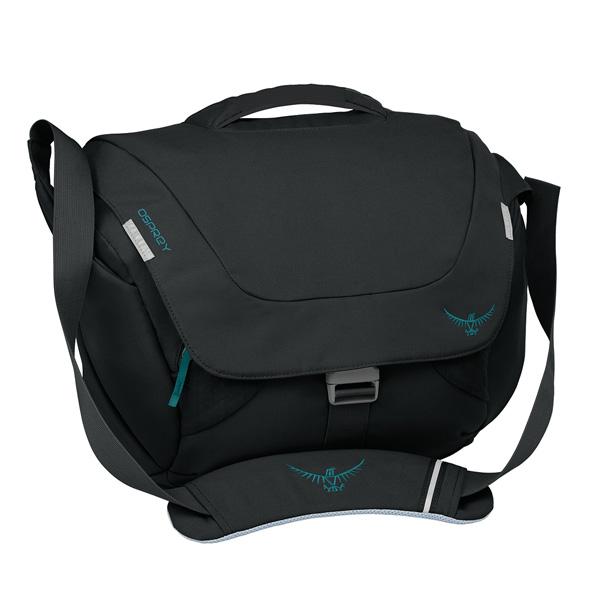 OSPREY(オスプレー) フラップジルクーリエ/ブラック OS53040女性用 ブラック ショルダーバッグ バッグ アウトドア アウトドアギア
